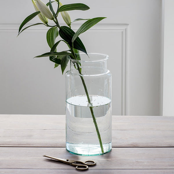 large wide neck vase
