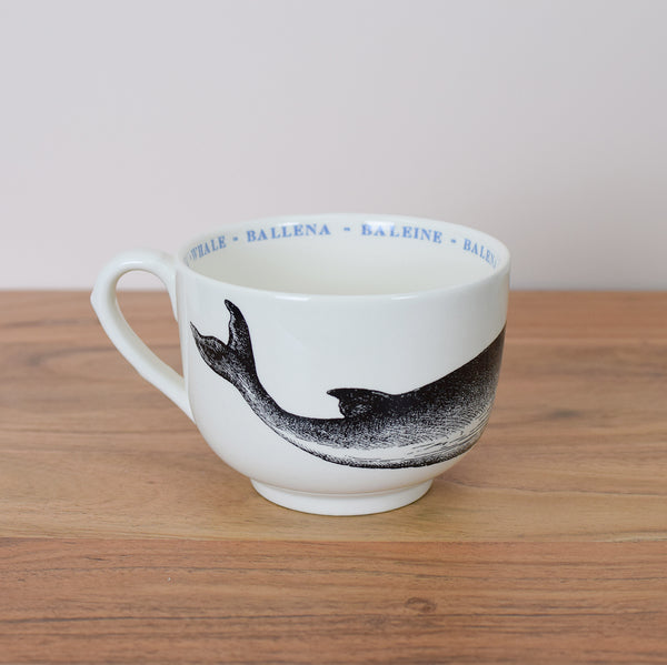 oversized whale cup