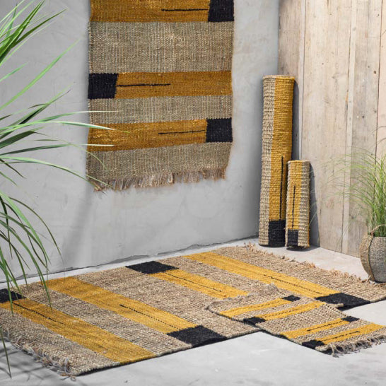 hemp and seagrass rug - large