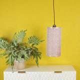 light pink lampshade details