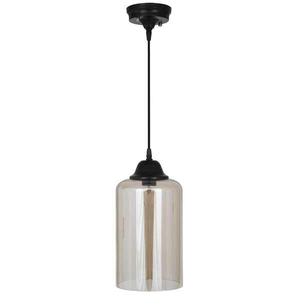 lustre glass pendant light