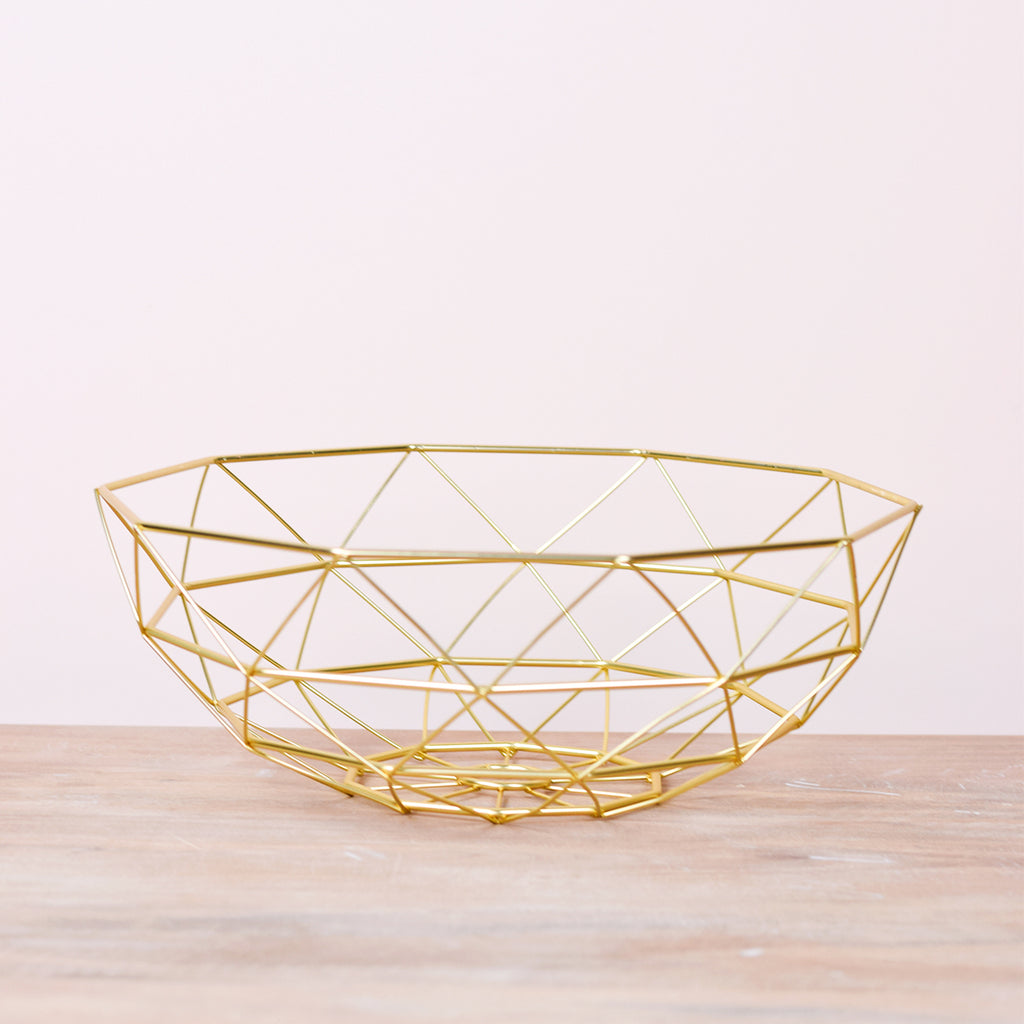 gold diamond bowl