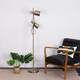 metal task floor lamp