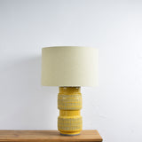 mustard table lamp