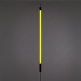 yellow neon tube light