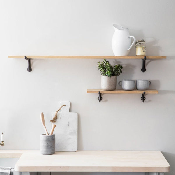 oak shelf