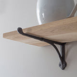oak bracket shelf