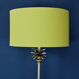 palm table lamp details
