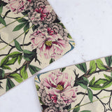 peonies tablemat