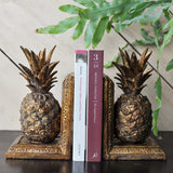 pineapple bookends detail