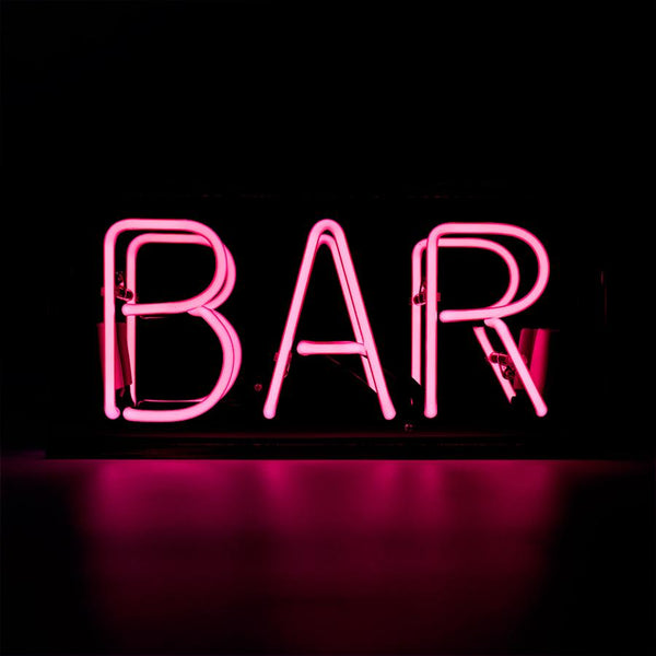 neon bar light