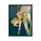 danseuse pirouette poster close up