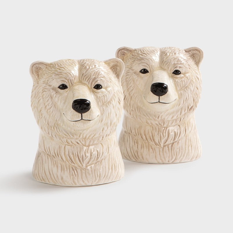 polar bear salt and pepper shakers