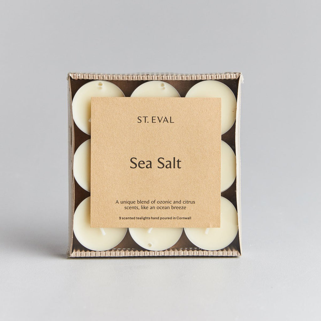 sea scented tea candles