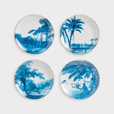 set of 4 dining plates