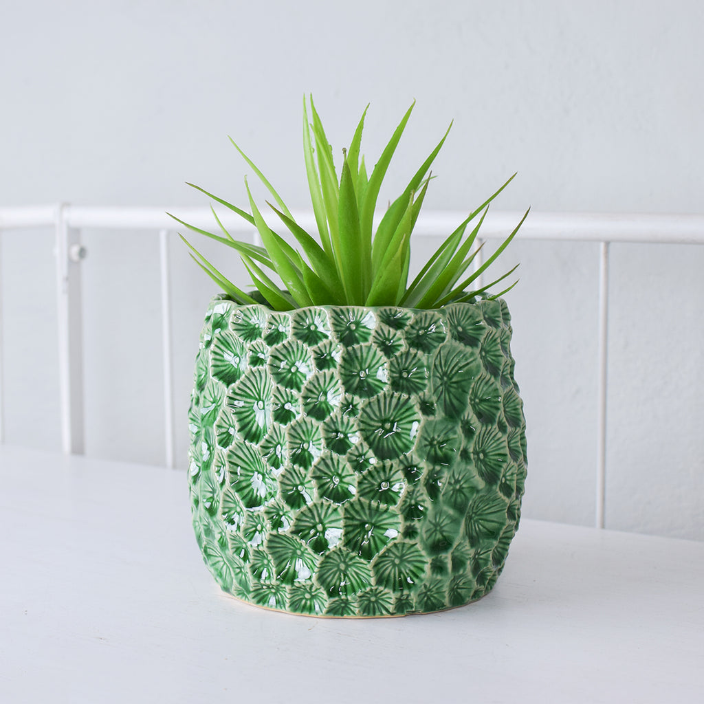 large stoneware plant pot cover