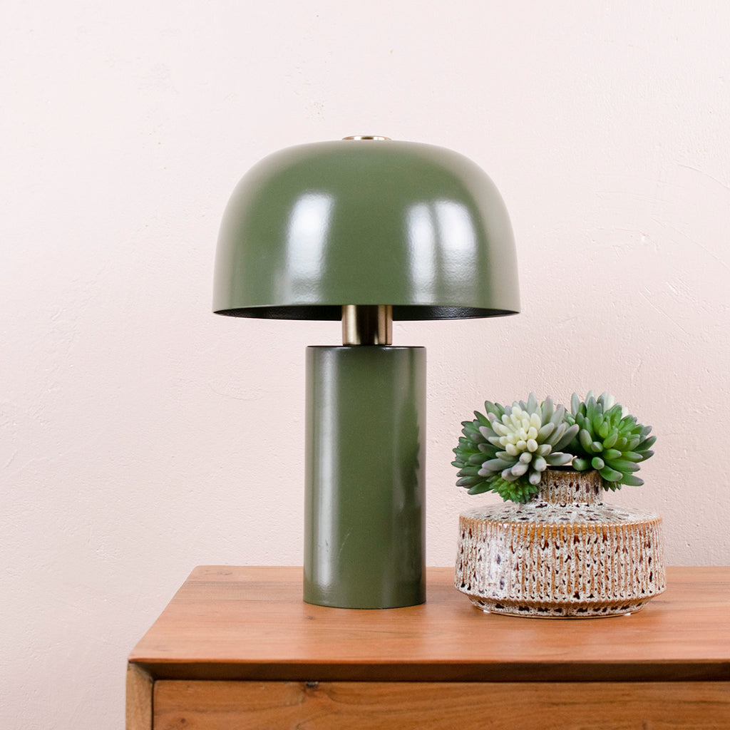 Lulu Lamp in Army Green