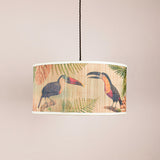 toucan bamboo pendant light