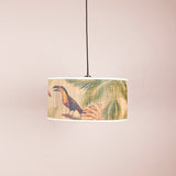 toucan bamboo pendant light details