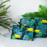 toucan purse close up