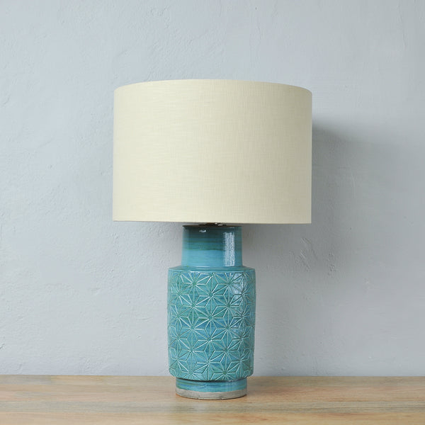 aquamarine lamp base
