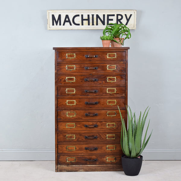 vintage multi drawer unit