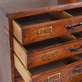vintage multi drawer unit drawers