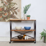 industrial shelving unit