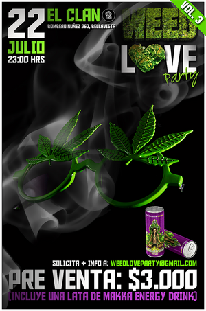 Weed Love Party Vol. 3