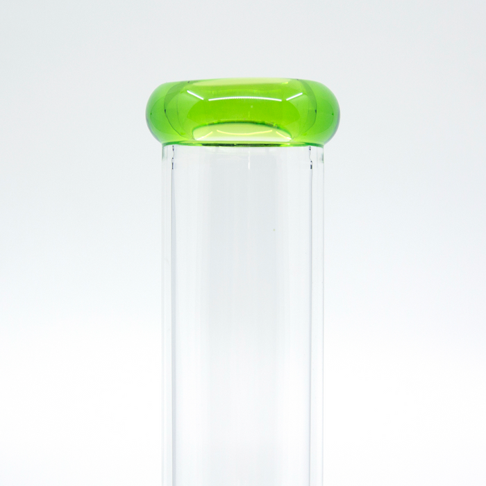 Bong Calvo Doble Perc Base Tansparente 40cm