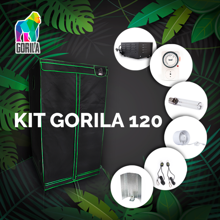 Kit Indoor Gorila 120 cm. - 600W