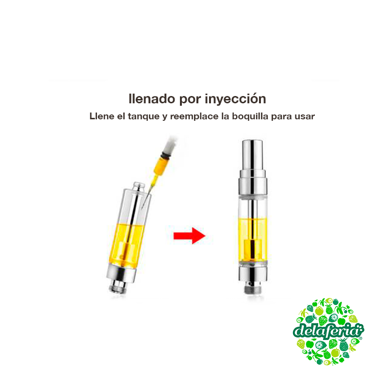 Cartridge Hilo 510 para E-liquid  Vertex VE-9