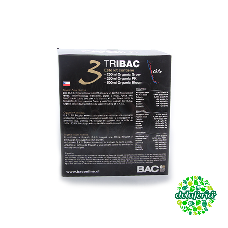 KIT TRIBAC Grow - Bloom - PK