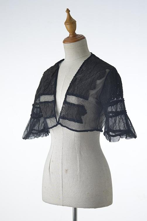 Black Lace Bolero Jacket