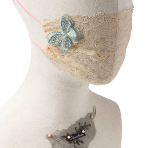 Raven Butterfly, Gia Butterfly Peach & Gia Butterfly Green Fairymask Trio Set