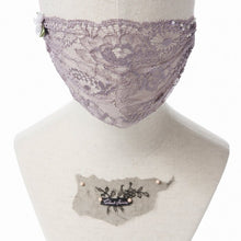 Grace Lace Veil Fairymask