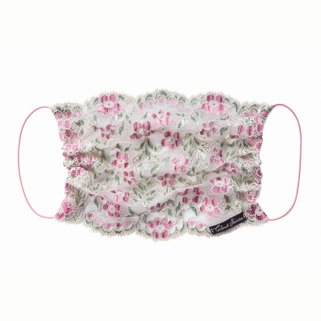 Evelina Lace Veil Fairymask