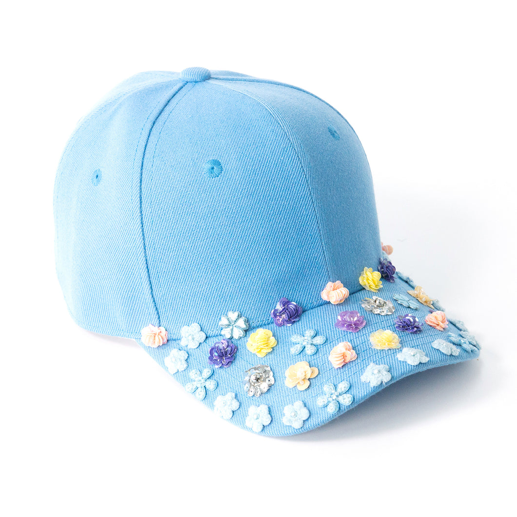 Bloom Bloom Skyblue Fairycap Baseball Cap