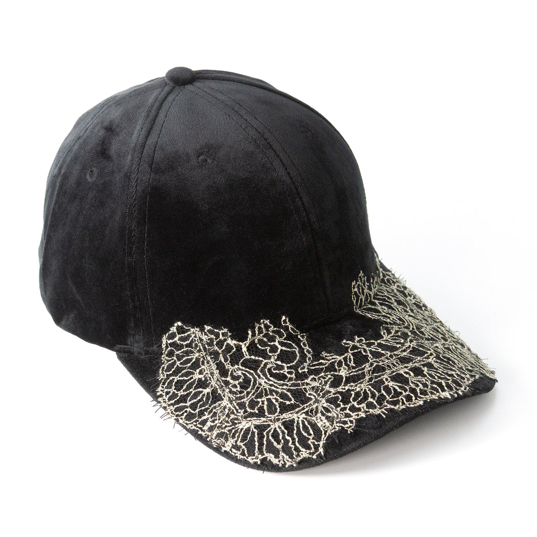Fairykini - Velvet Black Fairycap Baseball Cap