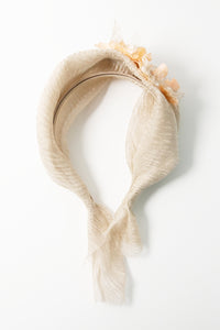 Moonlight Beige Gold Fairyband Headband