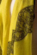 Paradox Yellow Cashmere Lace Scarf
