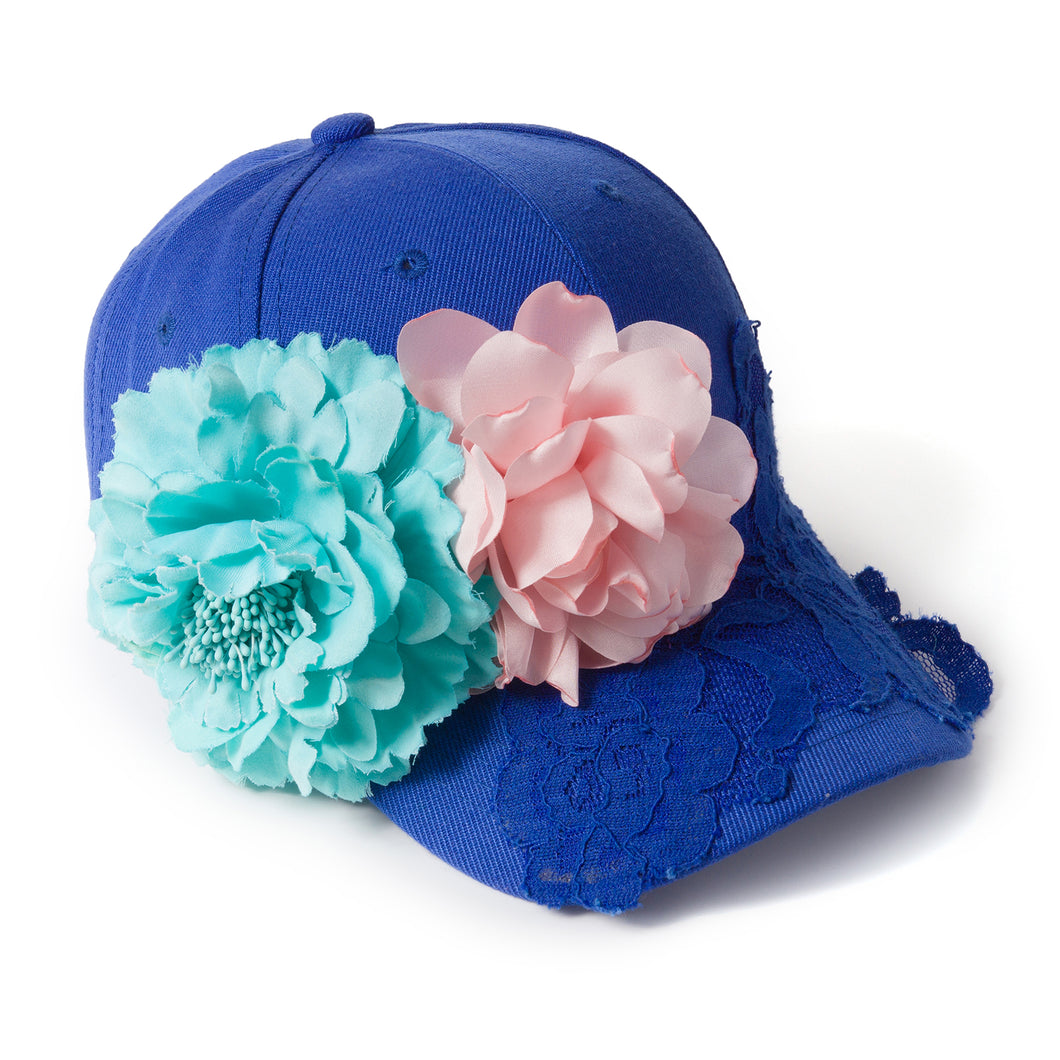Be A Frida Cobalt Blue Fairycap Baseball Cap