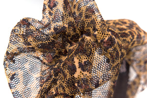 Flapper Copper Animal Print Fairyband Headband