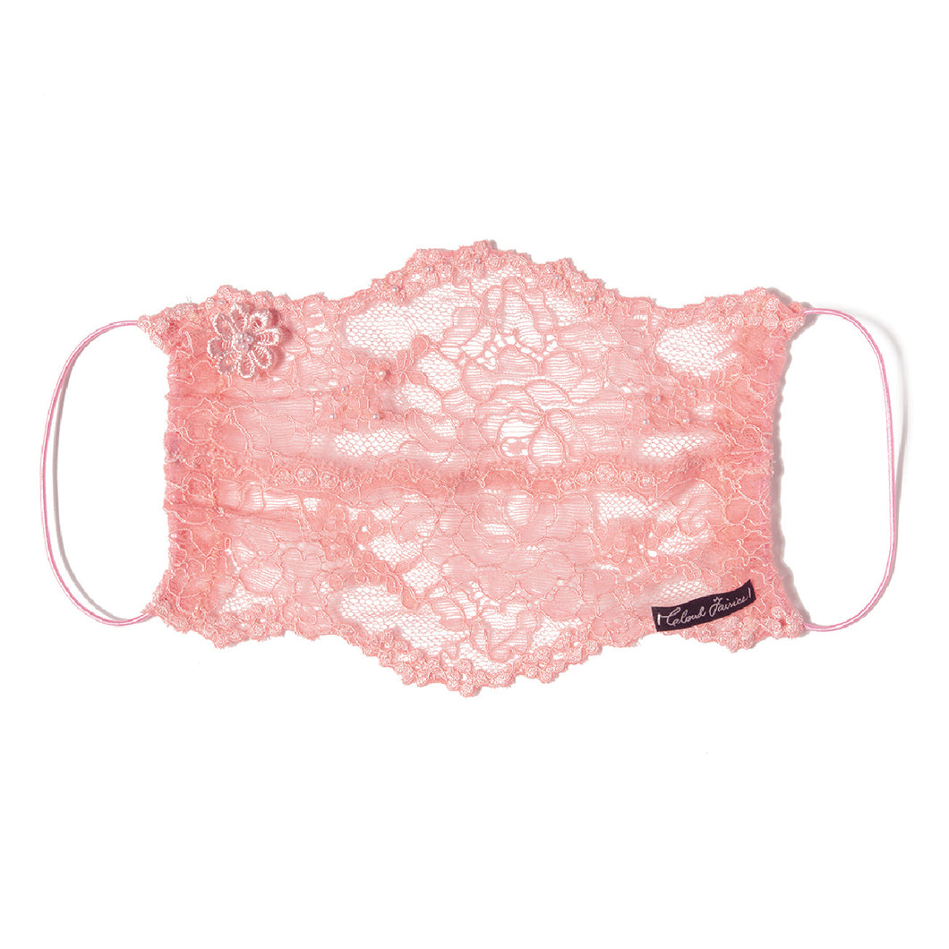 Evelyn Lace Veil Fairymask