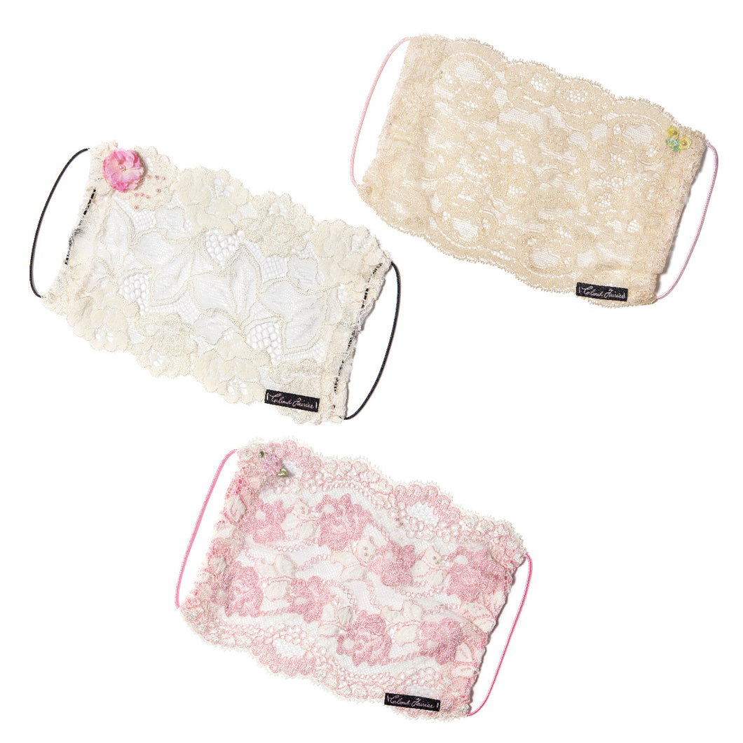 Gia Bloom, Lili & Edie Fairymask Trio Set