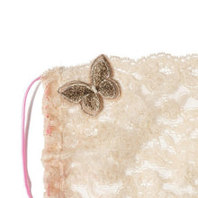 Gia Butterfly Copper Lace Veil Fairymask