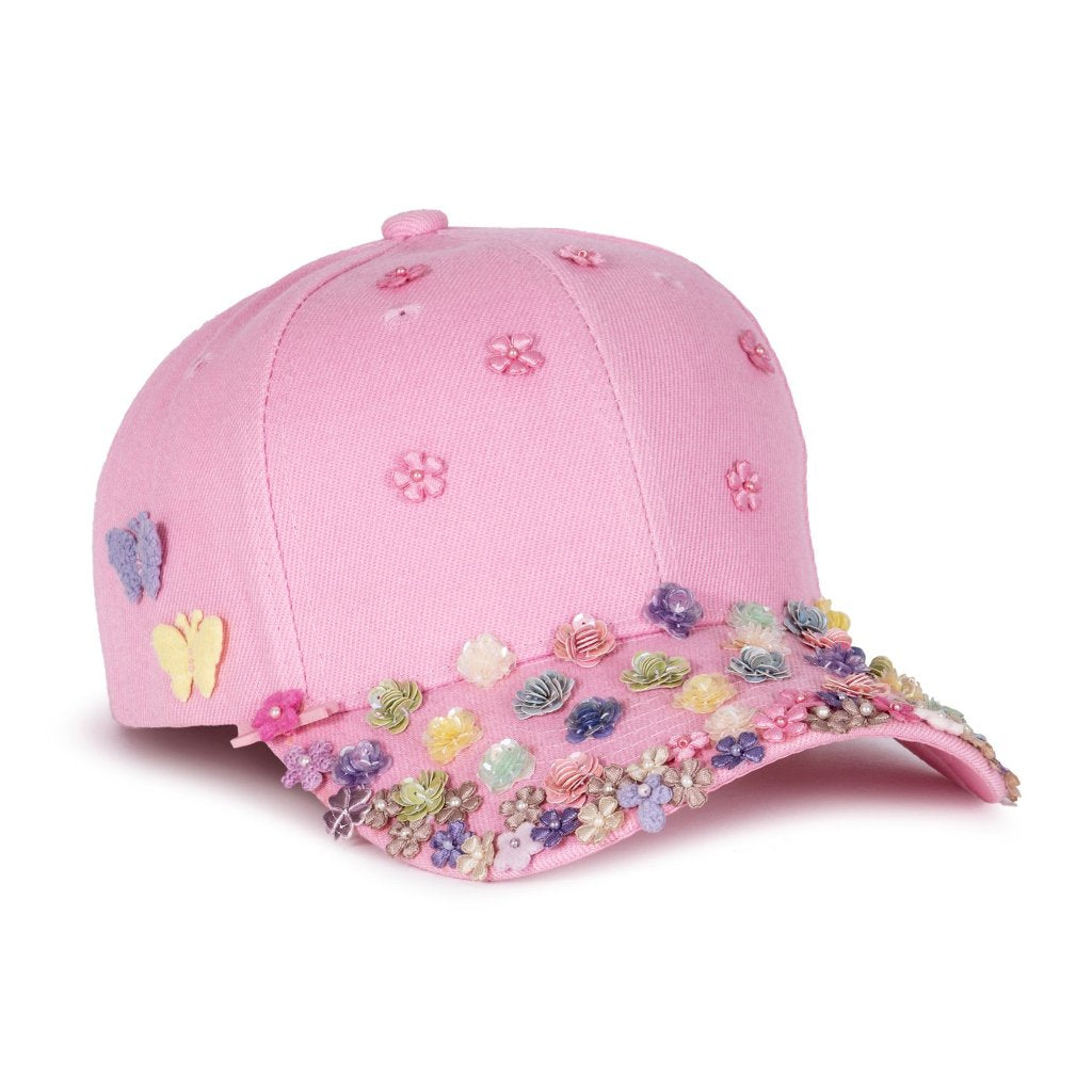 Bloom Bloom Pink Fairycap Baseball Cap