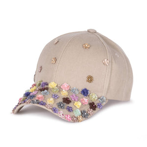 Bloom Bloom Beige Fairycap Baseball Cap
