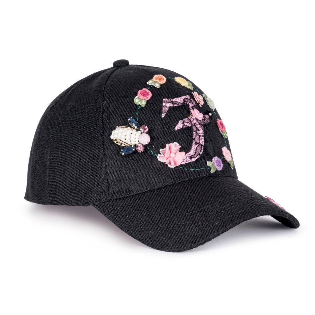 BeU Black Fairycap Baseball Cap