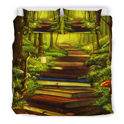Book Reader Bedding Set V.13